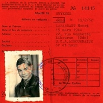 "Henri Labardant - Licence FFC 1962 (⌗2) • <a style=""font-size:0.8em;"" href=""http://www.flickr.com/photos/97706845@N04/13100846955/"" target=""_blank"">View on Flickr</a>"