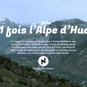 L'ALPE D'HUEZ AU TOURNANT