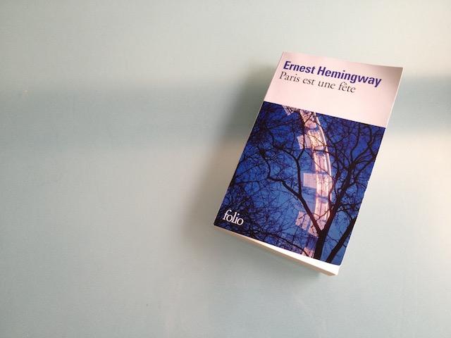 Hemingway célébre le Paris cycliste